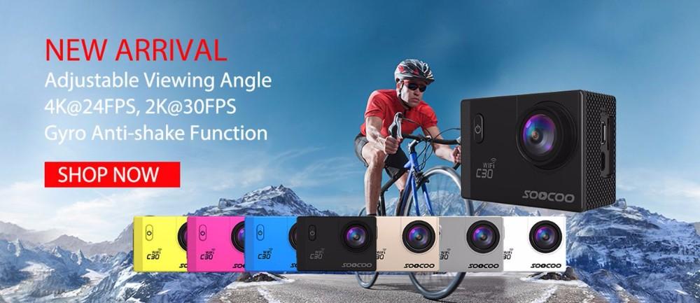 soocoo-c30-4k-action camera