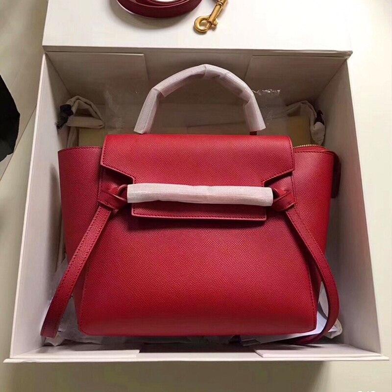 Echtes Leder frauen schulter tasche luxus handtaschen frauen taschen designer kreuz körper taschen borse donna tasjes dames-in Schultertaschen aus Gepäck & Taschen bei  Gruppe 1