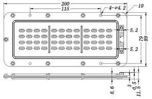 Image 5 - 2 pièces/lot bricolage moniteur audio plat moniteur HiFi haut parleur haute puissance ruban tweeter planaire transducteur AMT Neo8