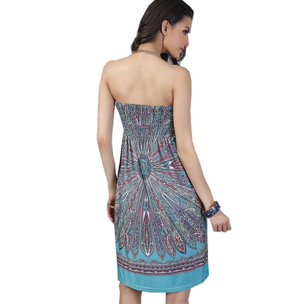 goedkope strapless jurkjes