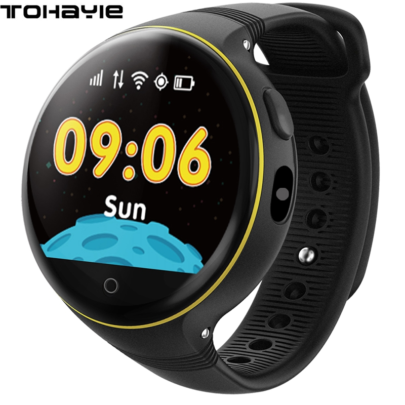 ToHayie S668 Child Watch SOS LBS+ GPS+Wifi Positioning Tracker Kid Safe Anti-Lost Monitor Smart GPS Watch PK Q90 V7K Baby Watch ds18 waterproof smart baby watch gps tracker for kids 2016 wifi sos anti lost location finder smartwatch for ios android pk q50