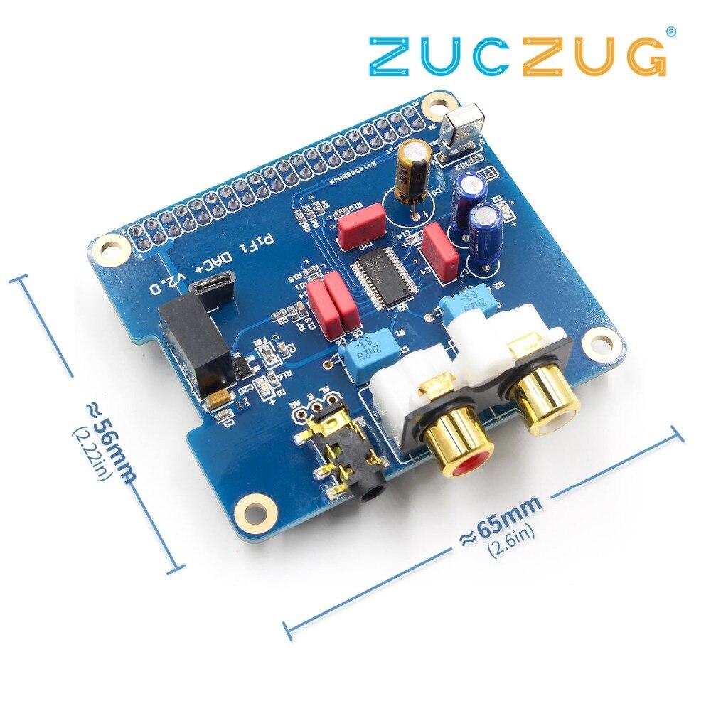 Raspberry pi 2 HIFI DAC I2S Interface spéciale HIFI DAC Audio carte son Modulecompatible raspberry pi B + pi2