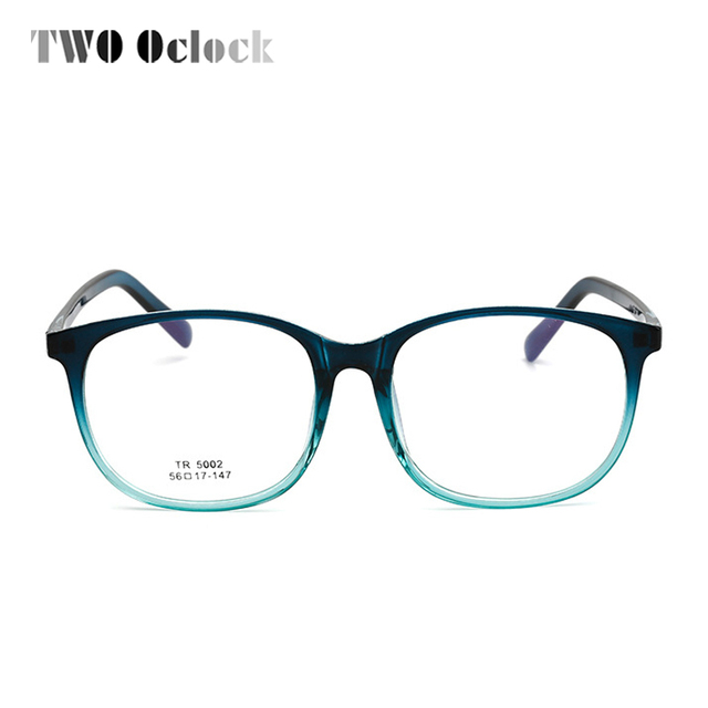TWO Oclock TR90 Bendable Eyeglass Frames Computer Gaming Glasses ...