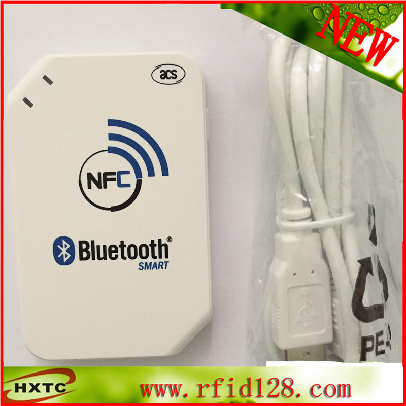 Contactless Bluetooth NFC Card reader/writer With RFID Reader For IC Card -ACR1255