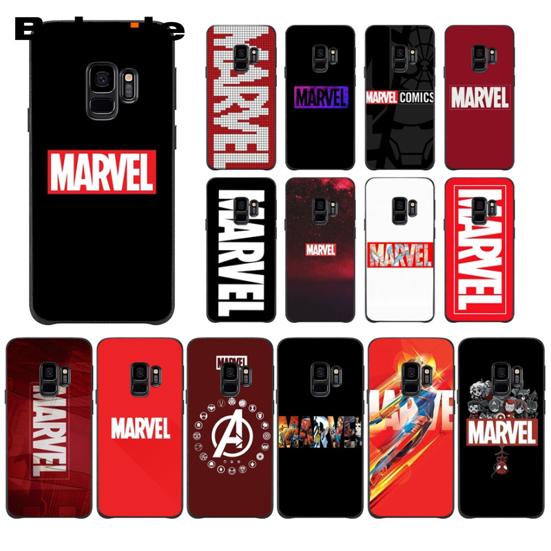 Marvel Superheroes The Avengers <font><b>Soft</b></font> Silicone Phone <font><b>Case</b></font> Cover For <font><b>Samsung</b></font> Galaxy S9 S9plus s8 s8plus s7 s7edge <font><b>s6</b></font> <font><b>s6</b></font> edge plus image