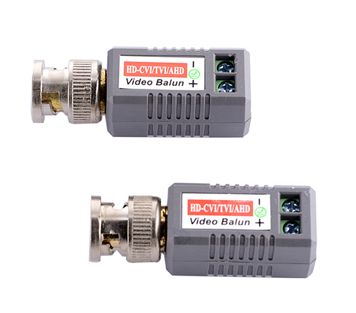 5 Pairs /lot CCTV Twisted BNC 1Channel Passive TVI CVI AHD Video Balun Transceiver COAX CAT5 Camera UTP Cable Coaxial Adapter promotion new silver utp 4 channel passive video balun transceiver adapter