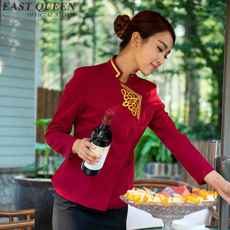 Restaurant Waitress Uniforms Hotel Restaurant Waitress Uniforms New Design Waitress Uniform Uniforms For Waiters  NN0174  W