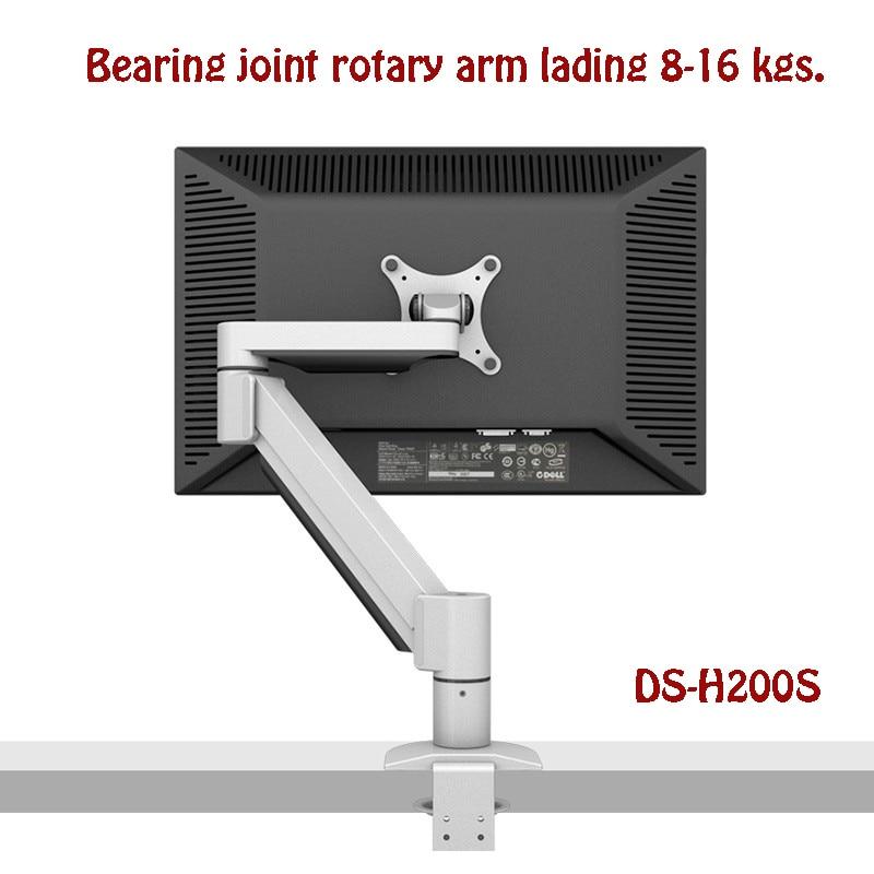 Super Long life Desktop Monitor Mount Bearing Joint Rotary Arm Full Motion 14 32 LCD LED