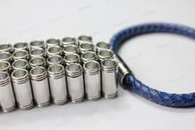 4 набора 6 мм отверстие Серебристая магнитная застежка 8x18
