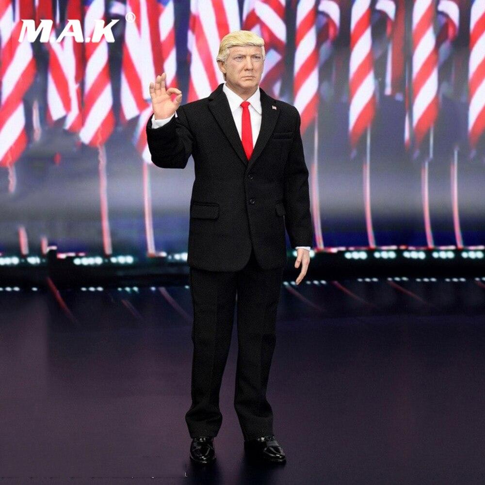 Ensemble complet 1/6 échelle AP002 45th président des états-unis Donald Trump modèle figurine à collectionner poupée pour Collection