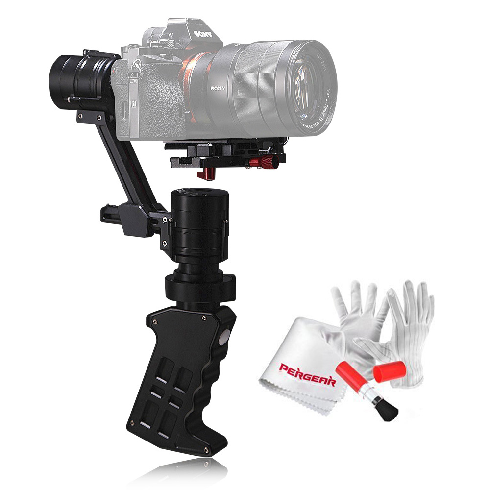 Came TV Single 3 Axis Handheld Camera Stabilizers 32bit Boards w/Encoders 1.2KG Playload for Sony A7 series Panasonic GH4 BMPCC док станция sony dk28 tv dock
