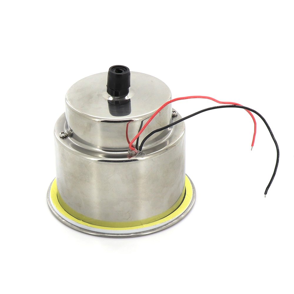 2PCS 8 LED Light Drink Holder For Car Marine Boat Stainless Steel Cup Shape Holder For Drinks And Bottles