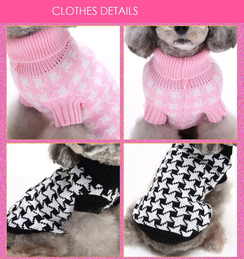 Cute Winter Warm Pet Dog Cat Sweater Sweatershirt Pullover Dog Puppy