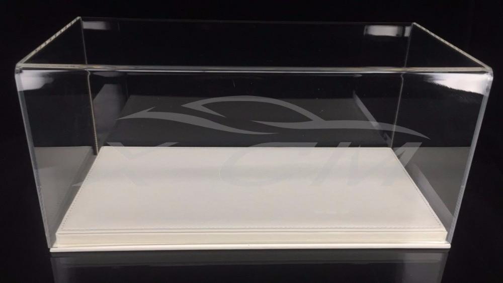 Auto modell Transparent Display Vitrine Leder Wie Basis 1:18 (Weiß)-in Diecasts & Spielzeug Fahrzeuge aus Spielzeug und Hobbys bei AliExpress - 11.11_Doppel-11Tag der Singles 1