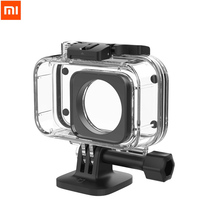 Original Xiaomi Camera Diving Case 40m Waterproof Protector for Xiaomi Mini Sport Action Camera 4K IP68 Rating Anti fog Film