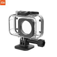 オリジナル Xiaomi カメラダイビングケース 40 メートル防水プロテクター xiaomi ミニスポーツアクションカメラ 4 18K IP68 評価抗防曇フィルム