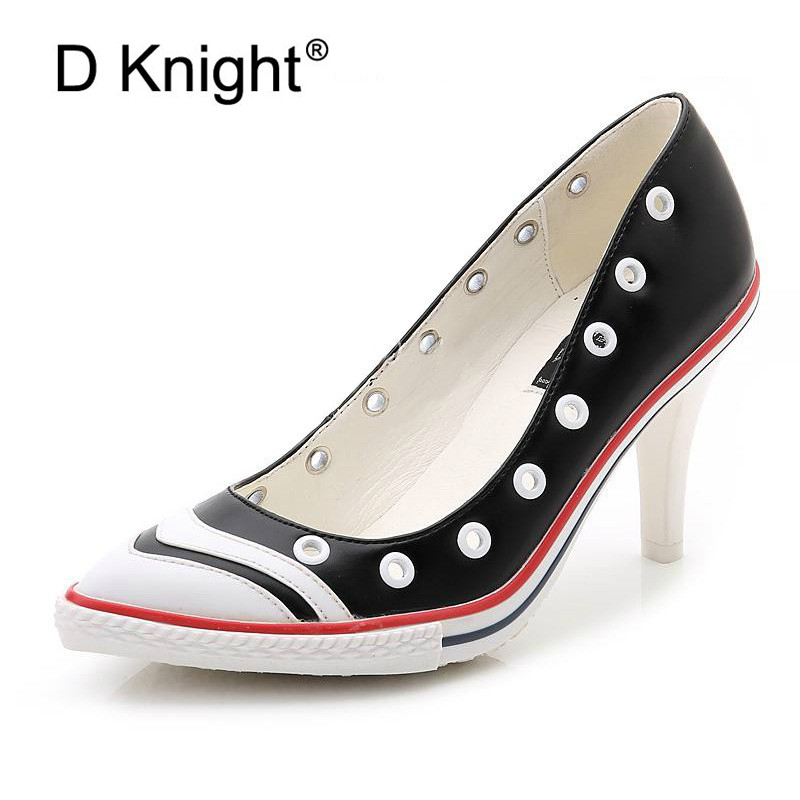 Sexy Pointed Toe Thin Heels Women Pumps New Fashion Shallow High Heeled Women Wedding Shoes Ladies Elegant Evening Party Shoes ladies real leather high heels pumps pointed toe sexy thin high heeled shoes women shine wedding party footwears size 34 39