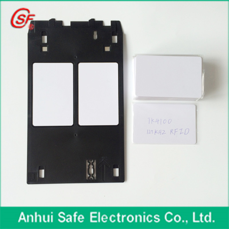 Business Cards 1pc Id Card Tray For Canon Inkjet Printer Providing Amenities For The People; Making Life Easier For The Population Able 50pcs 125khz Printable Pvc Rfid Smart Id Card With Tk4100/em4100 Chip