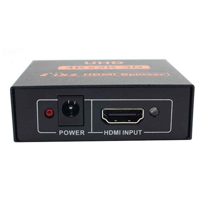 Image 2 - 1X2 HDMI сплиттер 2 Портовый Концентратор репитер усилитель для HDTV 3D 4K * 2K Full HD 1080p