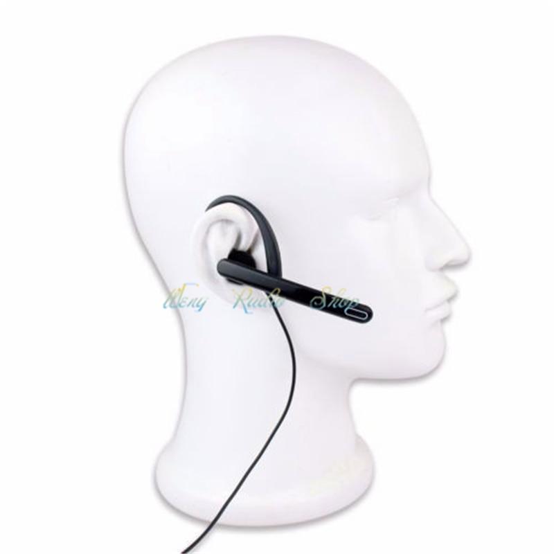 imágenes para Nuevo Auricular 2Pin PTT Mic Auricular para Kenwood BAOFENG Walkie Talkie UV-5R UV-8HX BF-UVB2 WOUXUN HYT PUXING Radio envío gratis