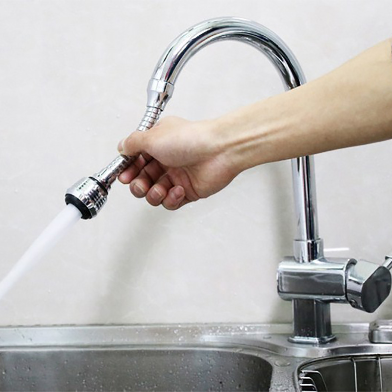 2PCS Kitchen Sink Bubbler Water Save Energy Increase The Water Pressure 360 Degrees Rotatable Bubbler Filter Free To Bend Nozzle