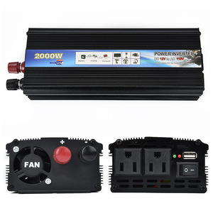 Solar Power Inverter 4000W Peak 12V DC T