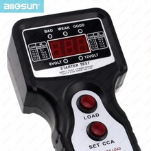 Digital Automotive Battery Tester Analyzer Battery Diagnostic Tools starter motor load voltage test Professional All-Sun EM577