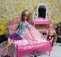 Free Shipping, doll bed furniture accessories for Barbie doll,girls play toys,best birthday gift