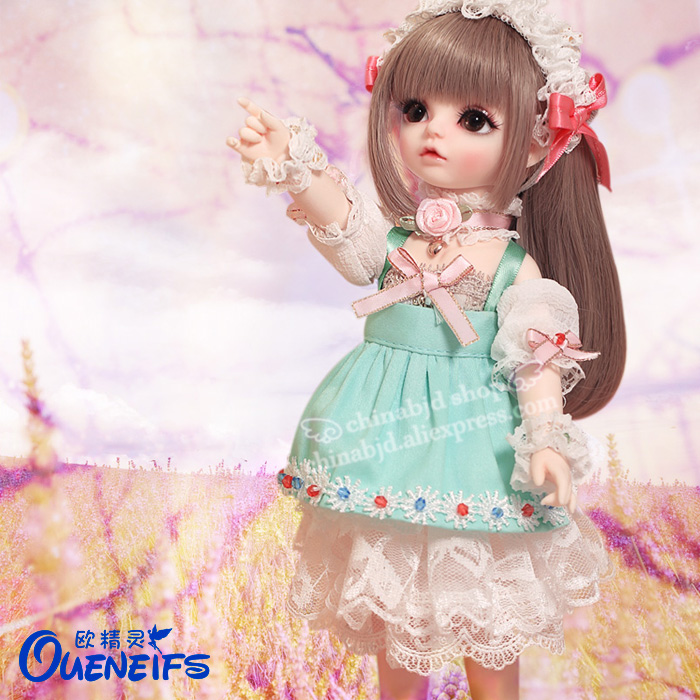 OUENEIFS Free Shipping Iris 1/6 BJD SD Doll Model Children High Quality Toys Shop Resin Figures For Birthday Gift Luodoll цена