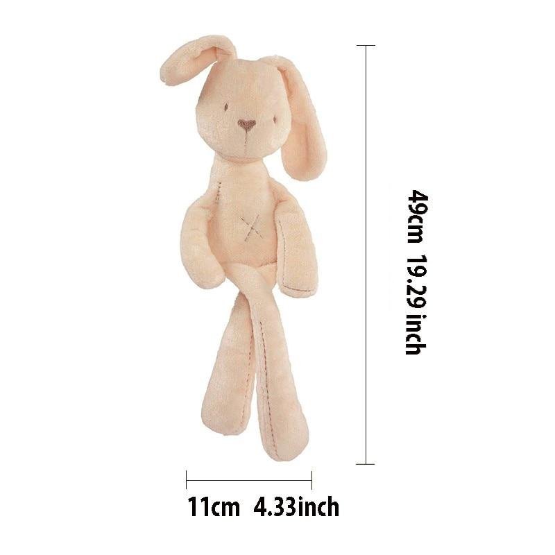 Children's toy 50cm Baby Rabbit Appease Sleeping Comfort Doll Plush Toy Millie Boris Smooth Obedient kids Rabbit Sleep Calm toy кровать comfort plush 152х203х56см со встроенным насосом 220в intex 64418