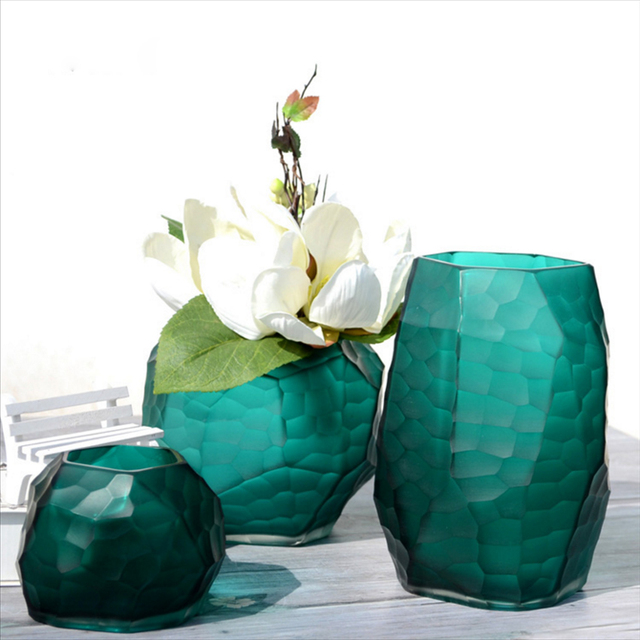 Aliexpress.com : Buy Manual grinding carved gl vase Modern ... on teal boxes, teal lanterns, teal candles, teal floral, teal decorative canisters, teal office decor, tall ceramic vases, teal cabinets, teal home decor, teal leaves, teal decorative candlesticks, teal glassware, teal paintings, teal decorative accessories, teal books, teal wedding, teal decorative containers, teal decorative accents, teal jewelry, teal garden decor,