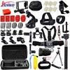 Gopro Accessories Set Go Pro Kit Mount For SJ4000 Gopro Hero 4 3 2 1 Battery