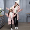-30 degree Girl's winter jacket down Jackets Coat 2016 NEW warm Kids baby thick duck Down jacket Children Outerwears cold winter