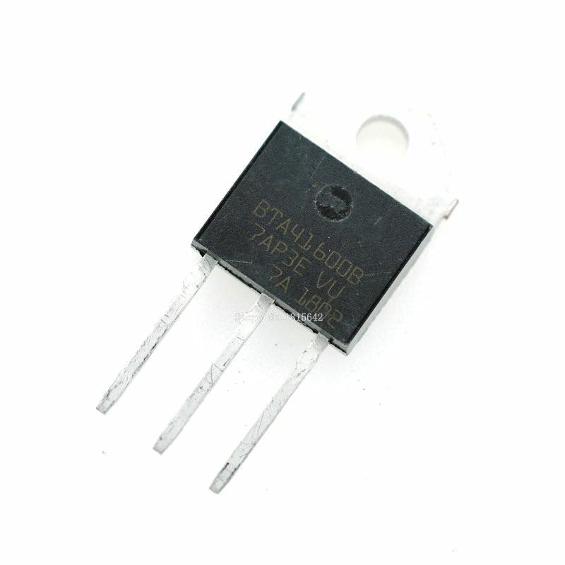 5PCS/Lot BTA41 600B BTA41600B BTA41 600 BTA41600 TO 247 40A 600V Triode Transistor New-in Integrated Circuits from Electronic Components & Supplies