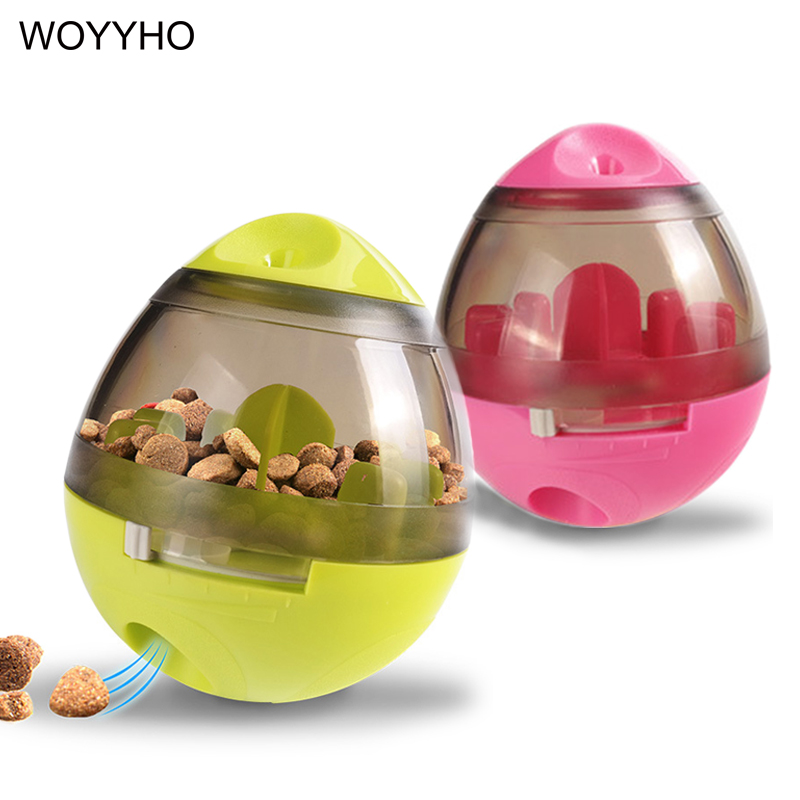 Pet Dog Toys Food Leaking Balls Pet IQ Treat Slow Feed Dispenser Interactive Toy For Dogs Cats Playing Training