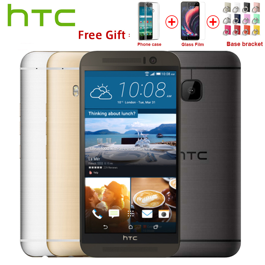 L'UE Version HTC One M9 4g LTE Mobile Téléphone Octa Core 3 gb RAM 32 gb ROM 5.0 pouce 1920x1080 Double Caméra 20MP 2840 mah SmartPhone