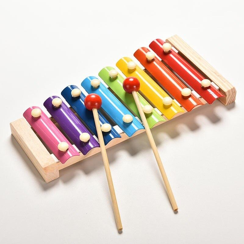 Aprendizaje Educación Niños Bebé Juguetes Musicales Con Palo Sabiduría Desarrollo Instrumento De Madera Toymejorar Los Sonidos Sensibles Chico