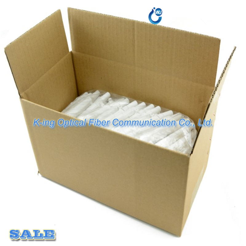Image 2 - 100pcs Drop cable protection box Optical fiber Protection box  small round tube heat shrink tubing to protect fiber splice tray-in  Fiber Optic Equipments from Cellphones