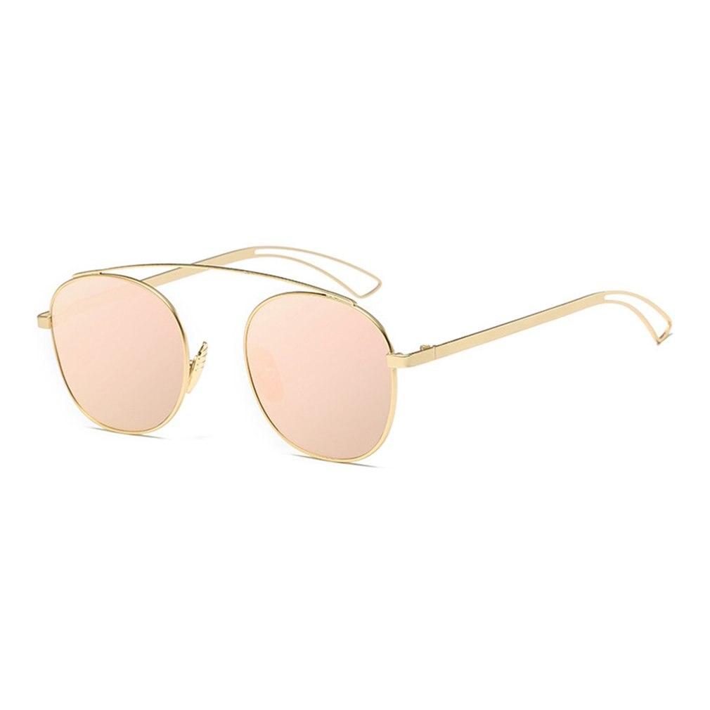 New Brand Designer Vintage round Sunglasses Women Men Metal Frame Sunglasses Color Film Sun Glasses Unisex Eyewear oculos de sol 3