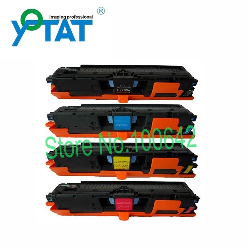 Color Toner Cartridge Q9700A Q97010A Q9702A Q9703A for HP Color LaserJet 1500/1500L LaserJet 2500/2500n/2500L Canon LBP2410 q6511x black toner cartridge compatible hp laserjet 2400 2410 2420 2430