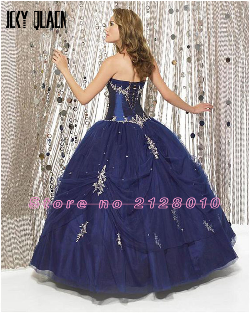 Joky Quaon Custom Fit Strapless Off the Shoulder Lace Up Beading ...