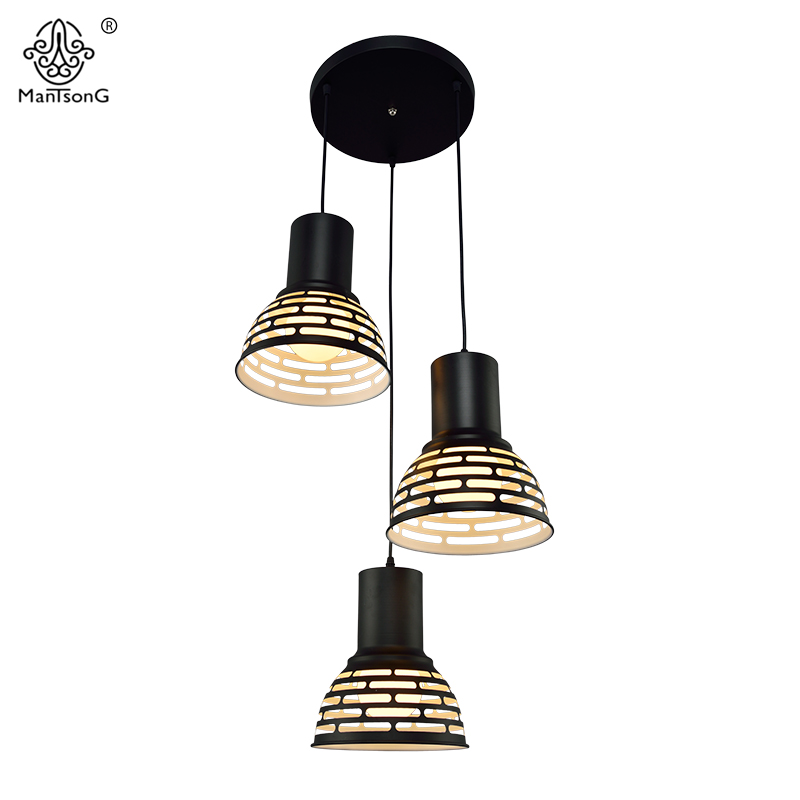 Modern Pendant Lamps Kitchen Fashion Iron Light Fixtures Dining Room Bedroom Coffee Bar Decorative White Hollow Pendant Lights a1 master bedroom living room lamp crystal pendant lights dining room lamp european style dual use fashion pendant lamps