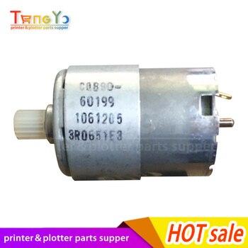 Free shippping Original New X motor Paper drive motor for HP DesignJet Plotter T520 CQ890-60199 Plotter Part