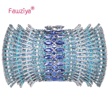 Fawziya Hollow Out Women Bag Fan Shaped Mini Box Bling Purses And Handbags For Girls