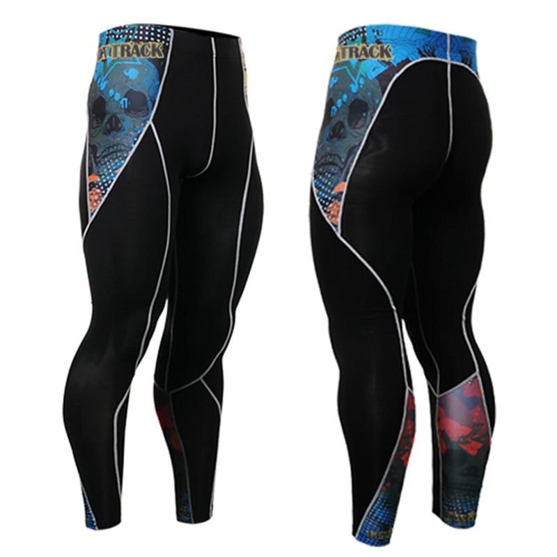 2017 High Quality men Sport Leggings For Yuga men Running Fitness Clothing Gym Leggings men Pants