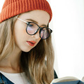 Ретро Женщины Круглый Очки Кадров Бренд Дизайнер Моды для Мужчин Оптические Очки Очки Для Чтения