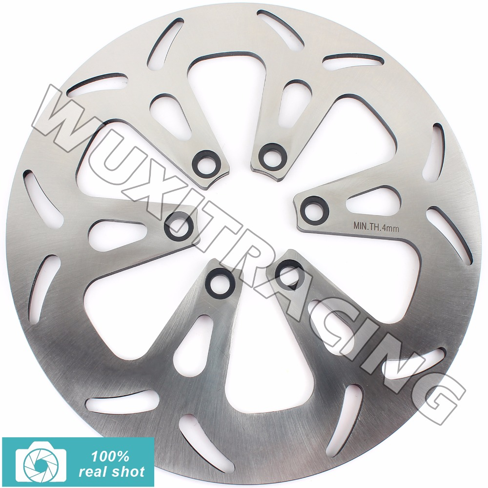 275MM Rear Brake Disc Rotor for SUZUKI VS 1400 VS1400 GL / GLP 87-08 88 89 90 91 92 93 94 95 96 97 98 99 00 01 02 03 04 05 06 07 rear brake disc rotor for kawasaki kle500 91 92 93 94 95 96 97 98 99 00 01 02 03 04 05 06 07 klr650 a c kl650 tengai