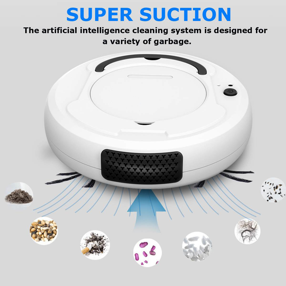 3-in-1 Intelligent Sweeping Robot Multi-function Rechargeable Automatic Cleaning Robot Dry and Wet Sweeping Vacuum Cleaner(China)