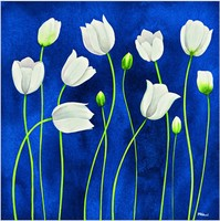 NEW DIY 3D Diamond Painting White Flower Crystal Art Craft Sewing Rhinestones Creative Gift Plastic Canvas Cheap B277