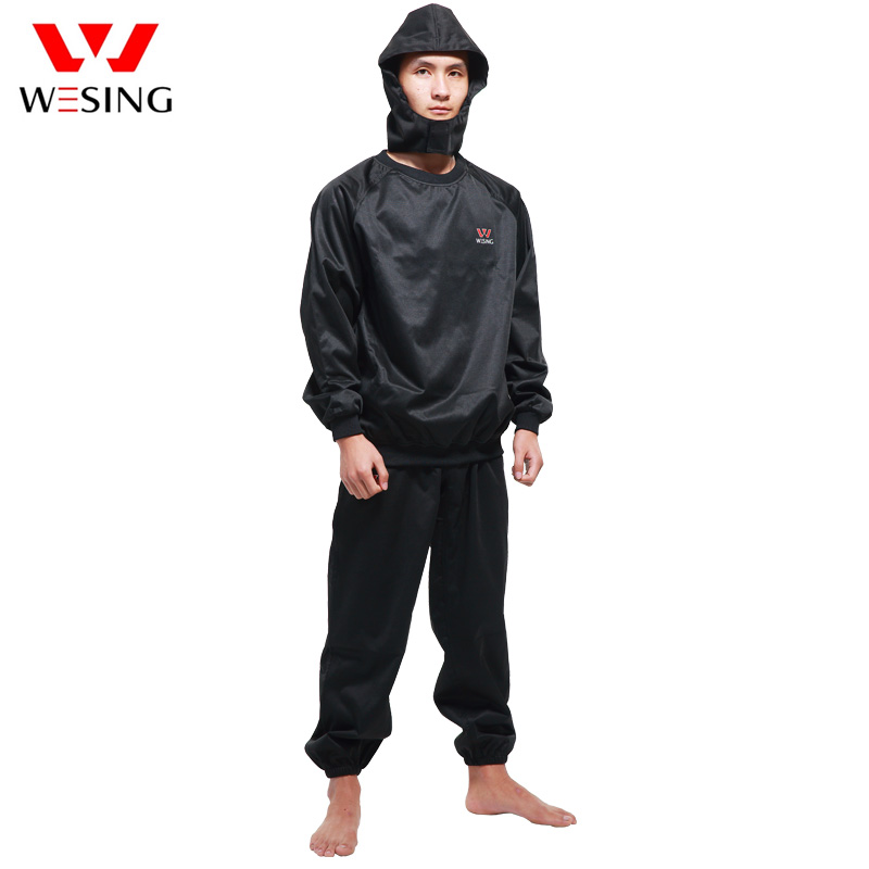 Wesing Professional Sauna Suit Women Athletes Weight Control Men Sports Jersey Running Fitness Clothes Lose Weight Free Shipping